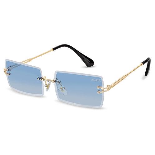 Ivy Diamond Sonnenbrille (blau)