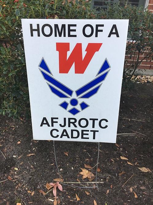 AF JROTC Yard Sign