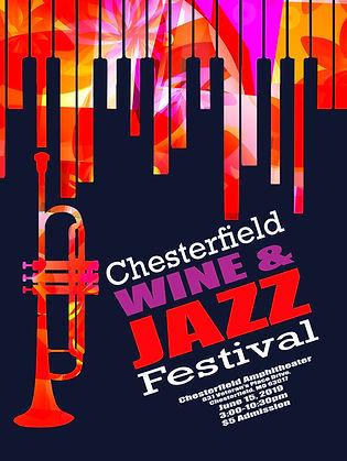 Chsterfield Jazz Festival Poster 2019.jp