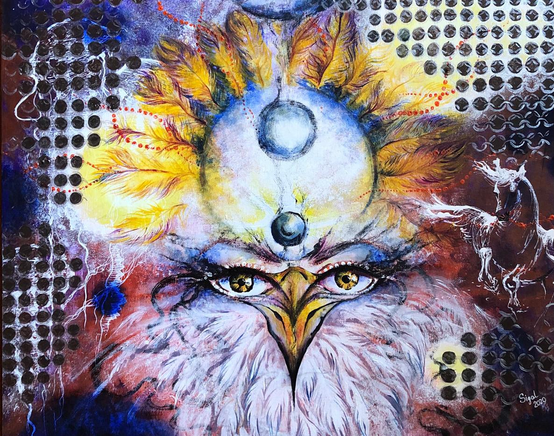the bird of wisdom