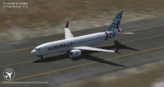 Air Italy Boeing 737 MAX 8