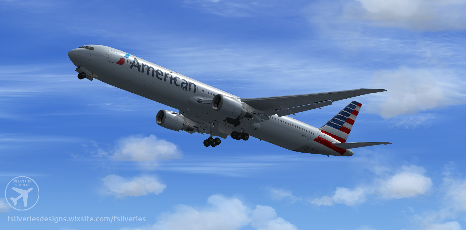 American Airlines Boeing 767-400ER