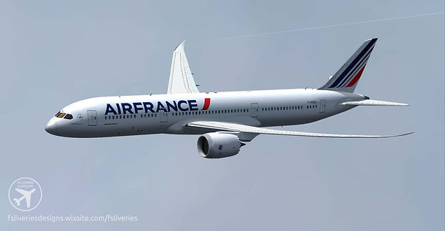 Air France Boeing 787-9 | FS Liveries & Designs - Aircraft paintings