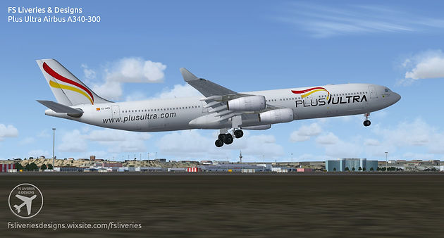 Plus Ultra Airbus A340-300