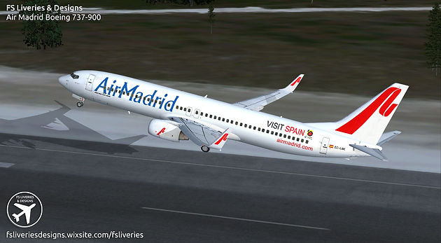 Air Madrid Boeing 737-900