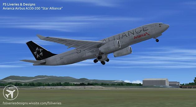 Avianca Star Alliance Airbus A330-200 | FS Liveries & Designs
