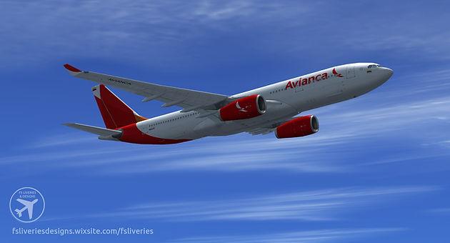Avianca Airbus A330-200