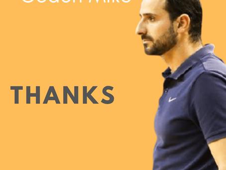 Σε ευχαριστούμε Μιχάλη