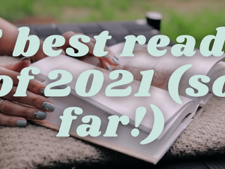 5 Best Novels of 2021 so far...(according to me!)