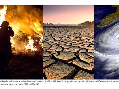 Alterações climáticas. Divulgação e Opinião.