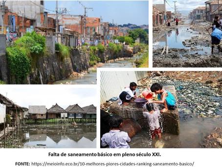 Saúde, Educação e Meio Ambiente: premissas da relação Saneamento Básico – Qualidade de Vida.