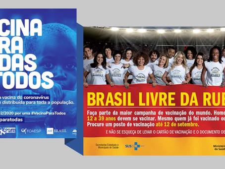 Onde está o Brasil, CAMPEÃO em vacinação?
