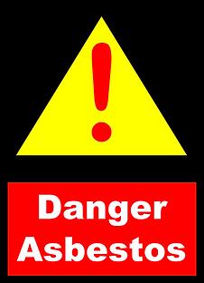 Warning Asbestos Danger Sign.png
