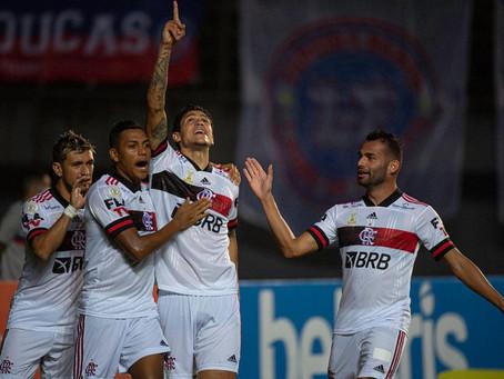 Flamengo vence Bahia em jogo recheado de golaços. No final, 5 a 3 para o rubro-negro