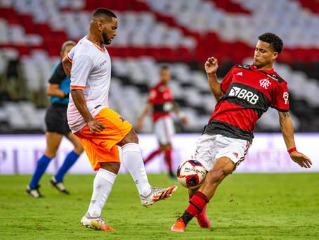 Com lindo gol de Max no apagar das luzes, Flamengo vence o Nova Iguaçu por 1 a 0