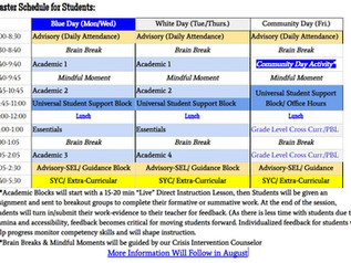 SMS to Start School in Remote Learning This Fall!