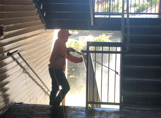 Apartment Property Managers & Pressure Cleaning