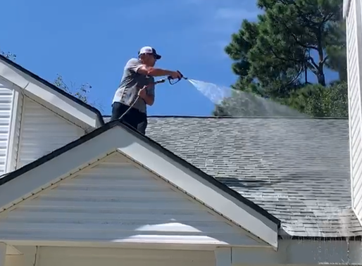How To Clean A Shingle Roof The Right Way