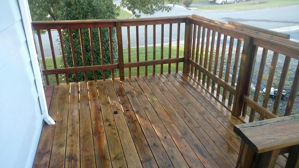 Savannah Deck Restoration and Cleaning After Picture