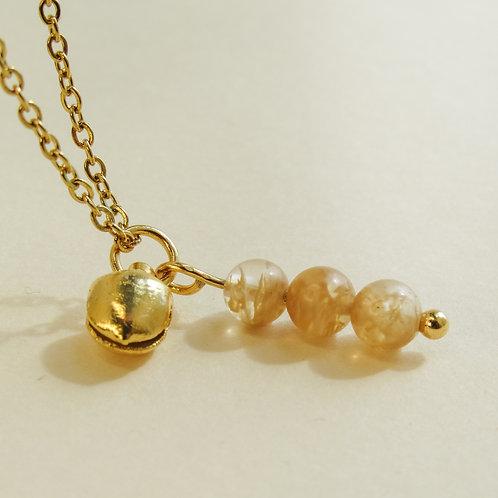 Citrine Crystal Angel Caller Necklace