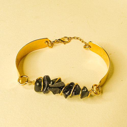 ERA - Blue Goldstone Crystal Adjustable Bracelet