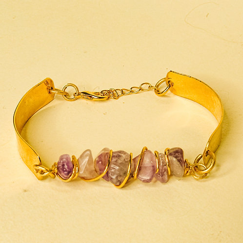 ERA - Amethyst Crystal Adjustable Bracelet