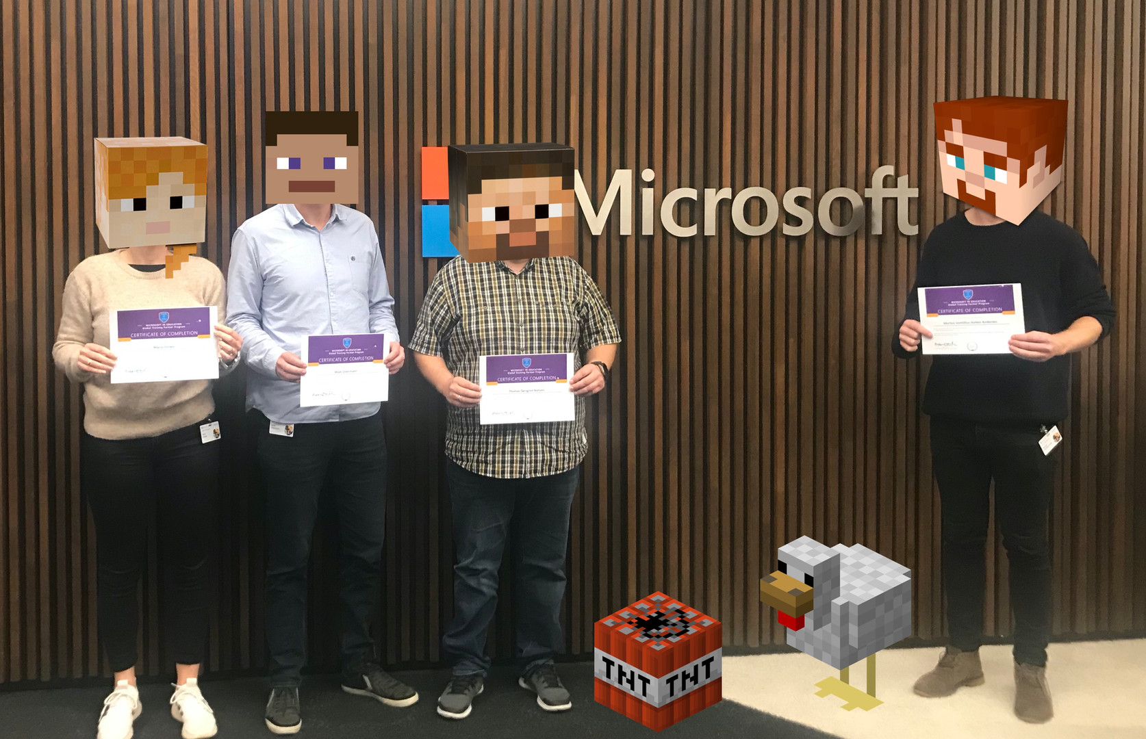 Microsoft event i Bruxelles