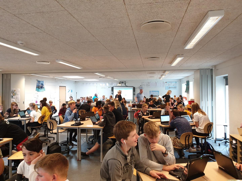 Teknologiworkshop for elever i Brønderslev