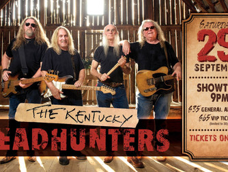 Win Kentucky Headhunters Concert Tickets on KOYA Radio (88.1FM) and Hits 96 (96.1FM)!