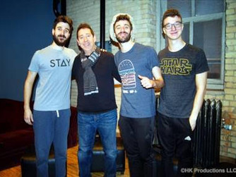 AJR Gets In The Mix With HK™