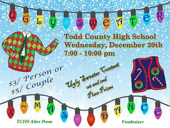 KINI-FM Host TCHS Ugly Sweater Christmas Dance