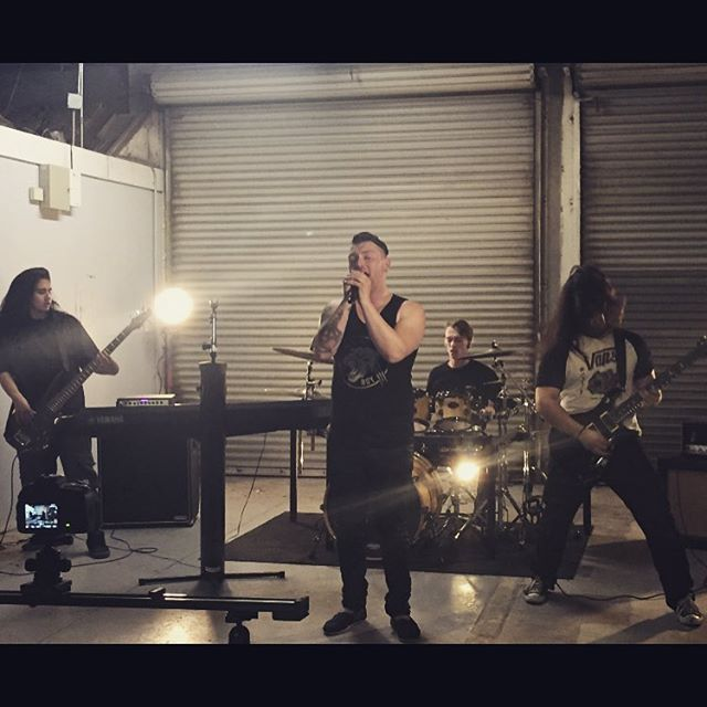 Inertia - Guilty Crown music video shoot