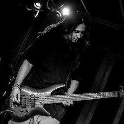 Andrew on bass . Mmmmmm