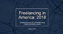 Freelancing in America: 2018 Freelancers Union and Upwork
