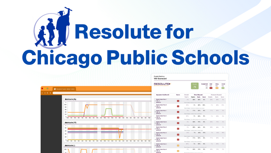Resolute helps CPS use data & visibility to strive for best-in-class facility performance