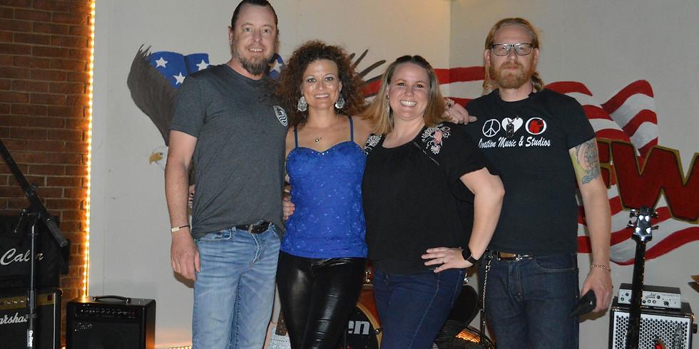 Amanda Page Cornett & Almost Angels at VFW post 5706
