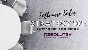 Analytics Software Sales Strategy 101
