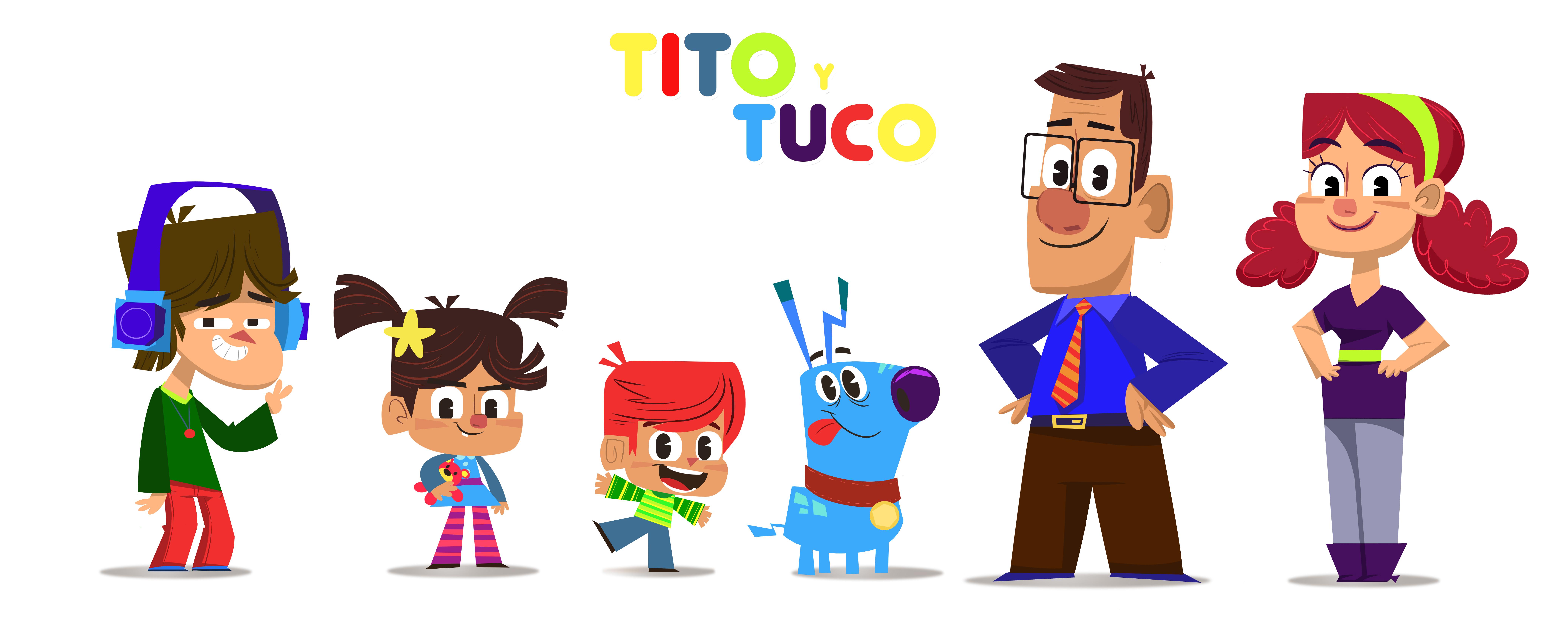 PERSONAJES  - TITO Y TUCO