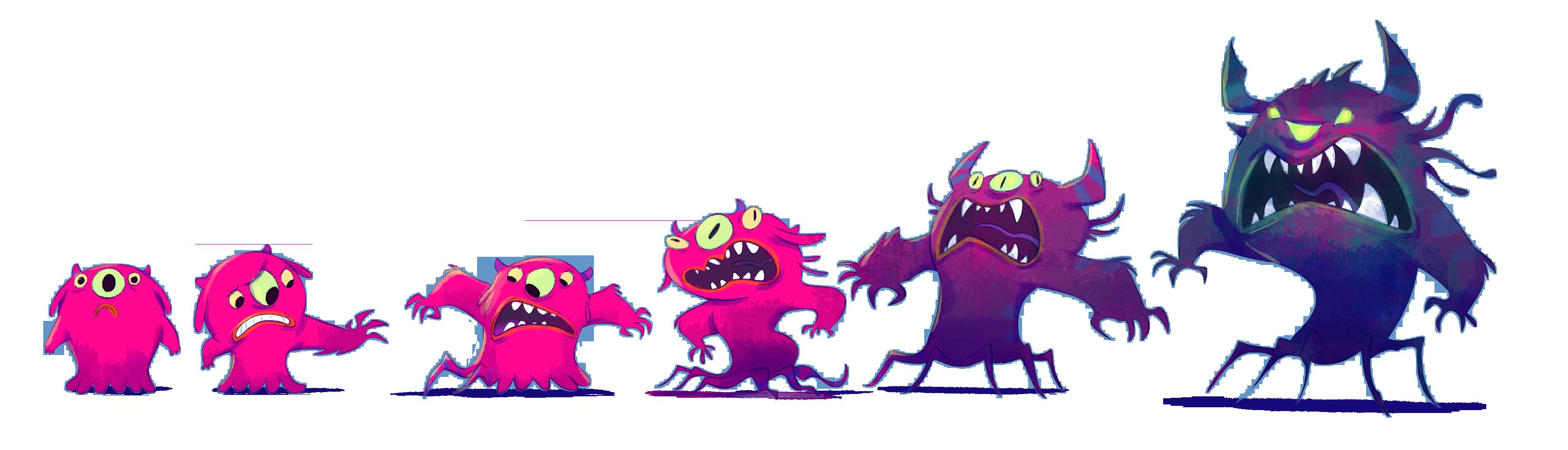 EVOLUCION monstruo