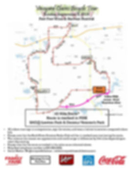 2019 Vineyard Bike Map 43 Miles - WITH D