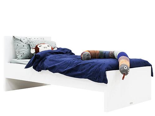 Lit 90x200 Camille Blanc (avec tête de lit) BOPITA
