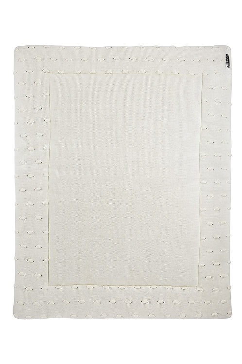 Tapis de parc 77x97 cm - KNOTS - Blanc MEYCO