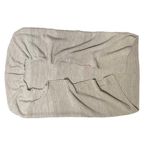 Couverture berceau/lit bébé Ombre Sand - Witlof For Kids