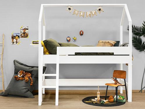 Combiflex lit mezzanine mi-hauteur 90x200 set de support Home BOPITA
