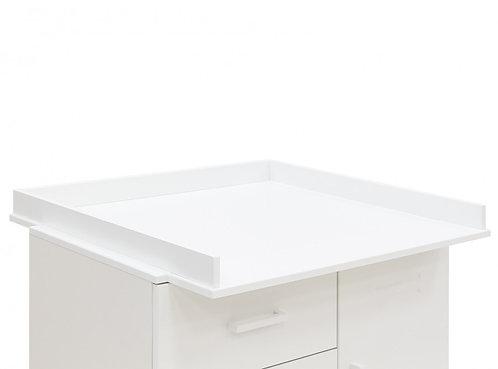 Plan à langer XL Uno Blanc BOPITA