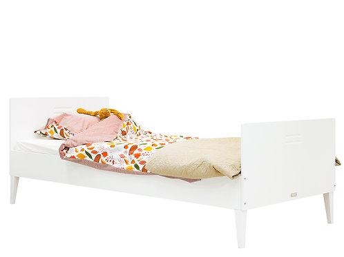 Lit 90x200 Locker Blanc (excl.sommier) BOPITA