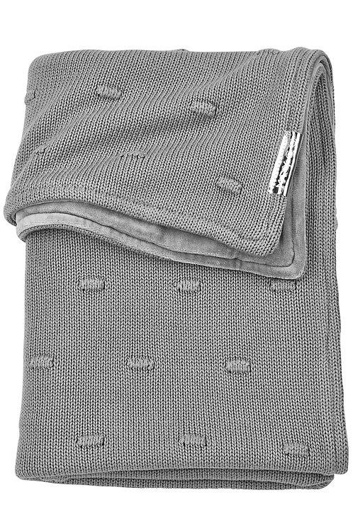 Couverture 100x150 cm - Knots - Gris - MEYCO