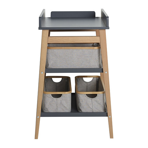 Table à langer Hip - Moonshadow/naturel QUAX