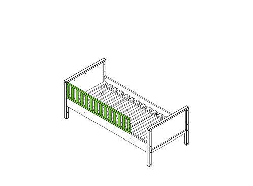 Barre de protection Nordic Blanc (seulement applicable au lit basic) BOPITA