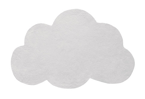 Tapis chambre - nuage gris clair - Lilipinso